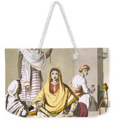 Indian Woman In Her Finery, With Guests Weekender Tote Bag