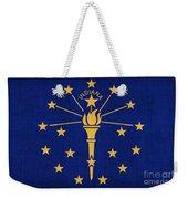 Indiana State Flag Weekender Tote Bag