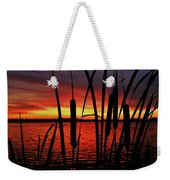 Indiana Sunset Weekender Tote Bag by Benjamin Yeager