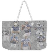 Indianapolis Colts Legends Weekender Tote Bag