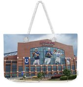 Indianapolis Colts Lucas Oil Stadium Weekender Tote Bag