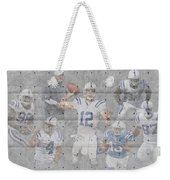 Indianapolis Colts Team Weekender Tote Bag