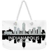 Indianapolis In 4 Weekender Tote Bag