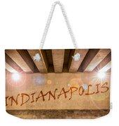 Indianapolis Weekender Tote Bag