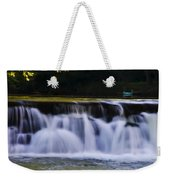 Indianhead Dam - Montgomery County Pa. Weekender Tote Bag
