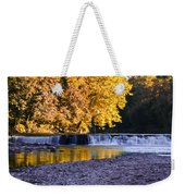 Indianhead Dam - Perkiomen Creek Weekender Tote Bag