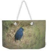 Indigo Blue Weekender Tote Bag