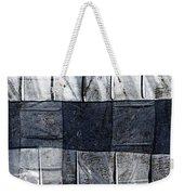 Indigo Squares 1 Of 5 Weekender Tote Bag