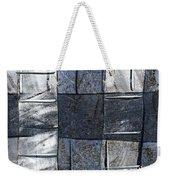 Indigo Squares 3 Of 5 Weekender Tote Bag