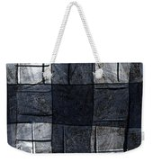 Indigo Squares 4 Of 5 Weekender Tote Bag