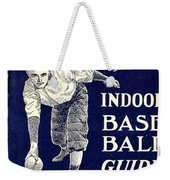 Indoor Base Ball Guide 1907 Weekender Tote Bag by American Sports Publishing