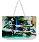Indoor Nature Weekender Tote Bag