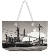 Industrial Art 2 Sepia Weekender Tote Bag