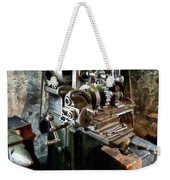 Industrial Gear Cutting Machine Weekender Tote Bag