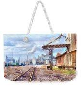 Industrial Railroad Scene  Weekender Tote Bag