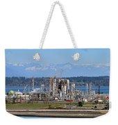 Industrial Refinery Weekender Tote Bag