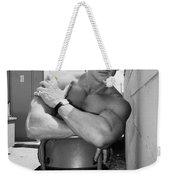 Industrial Strength Bw Palm Springs Weekender Tote Bag
