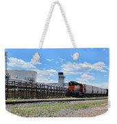 Industrial Train Weekender Tote Bag