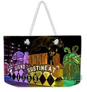 Infant Mystics Emblem In Mardi Gras Colors Weekender Tote Bag