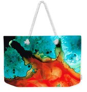 Infinite Color - Abstract Art By Sharon Cummings Weekender Tote Bag by Sharon Cummings