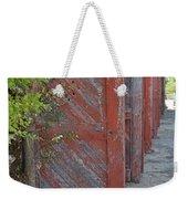 Infinite Red Doors Weekender Tote Bag