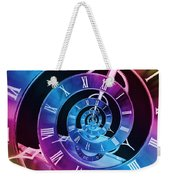 Infinite Time Rainbow 1 Weekender Tote Bag