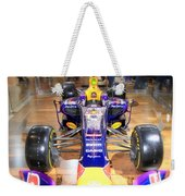 Infiniti Red Bull Formula One Racing Car  Weekender Tote Bag