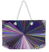 Infinity Abstract Weekender Tote Bag