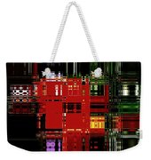 Infinity Jewel Mosic Horizontal 3 Weekender Tote Bag