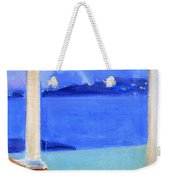 Infinity Pool At Twilight Weekender Tote Bag