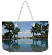 Infinity Pool Of Aureum Palace Hotel Weekender Tote Bag