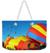 Inflating Weekender Tote Bag
