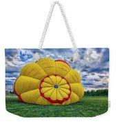Inflating The Hot Air Balloon Weekender Tote Bag