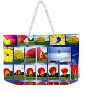 Inflation Hot Air Balloon Weekender Tote Bag