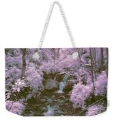Infrared Mountain Stream Weekender Tote Bag
