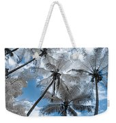 Infrared Palm Trees On The Coast Weekender Tote Bag