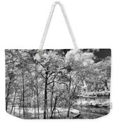 Infrared Stream Weekender Tote Bag