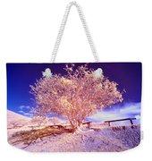 Infrared Tree Weekender Tote Bag
