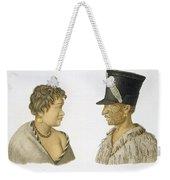 Inhabitants Of New Zealand, 1826 Weekender Tote Bag