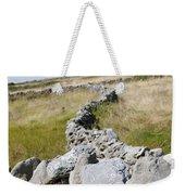 Inis Mor Fields Of Stone Weekender Tote Bag