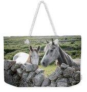 Inishmore Horses Weekender Tote Bag