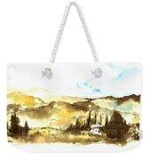 Ink Landscape Weekender Tote Bag