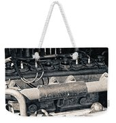 Inner Life Of An Old Car Weekender Tote Bag