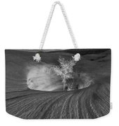 Inner Light Bw Weekender Tote Bag