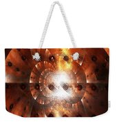 Inner Strength - Abstract Art Weekender Tote Bag by Carol Groenen