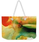 Inner Strength - Abstract Painting By Sharon Cummings Weekender Tote Bag by Sharon Cummings