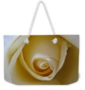 Innocence White Rose 5 Weekender Tote Bag