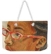 Inquisitive Girl Weekender Tote Bag