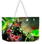 Insect For Diner Agaain Weekender Tote Bag