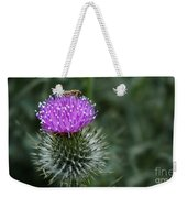 Insect On A Thistle Weekender Tote Bag
